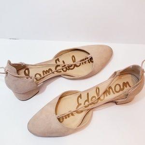 Sam Edelman ankle wrap Block Heel | 7.5